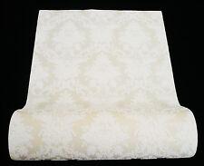 03872-10) 1 Rolle hochwertigste Super Design Vliestapete Charisma beige weiß