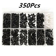 350Pcs 12 Model Car Door Fender Repair Fastener Clip Rivets Screws Push Fastener
