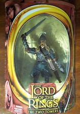 LOTR. EOMER THE TWO TOWERS. W/ SWORD ATTACK ACTION. NEW. HALF-MOON PACKAGE