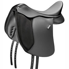 """Wintec 500 16"""" Synthetic Dressage Saddle Black with Cair System"""