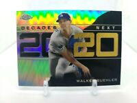 2020 Topps Chrome Update Walker Buehler Decades Next DNC-14 Dodgers
