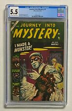 JOURNEY INTO MYSTERY #9 Atlas Comics 1953 CGC 5.5 Comic Book