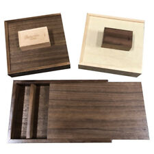 Wooden USB Gift Box Engrave Custom Album Box 4X6 5X7 Photo Box Pendrive Storage