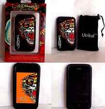 COQUE EN SILICONE SOUPLE TIGRE IPHONE 3G/3GS + 2 ETUIS + 1 FILM + 1 STYLET!!