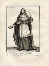 XVIIIe / CHANOINE REGULIER DE LA CATHEDRALE DE PAMPELUNE