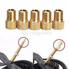 5 Presta to Schrader Adaptor Bike Bicycle Pump Tire Air Inflator Valve Connector