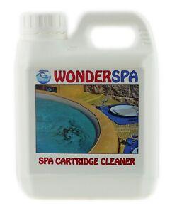 WonderSpa Cartridge Cleaner Filter Spa Hot Tub 1L Bottle
