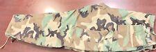 "Origina Green & Brown Camo Print Army Utility Cargo Hunting Pants Mens 37"" Waist"