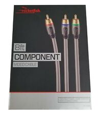 Rocketfish Component Video Audio Cable for Home Theater Video Connection 8 foot