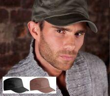 Gorras y sombreros de hombre en color principal negro 100% algodón talla única