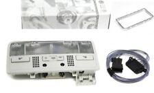 PLAFONIERA + TELAIO + CAVO ORIGINALE VW GOLF 4/BORA/PASSAT 3B LED ROSSI (GRIGIO)