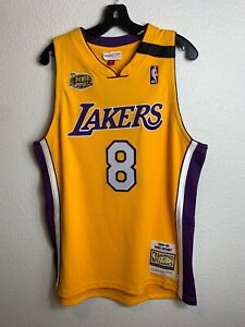 Mens Mitchell &Ness NBA Los Angeles Lakers Kobe Bryant Finals 8 Vintage (L)