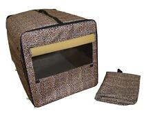"""BestPet 24"""" Dog Cat Pet Bed House Soft Carrier Crate Cage Playpen w/Case M 68"""