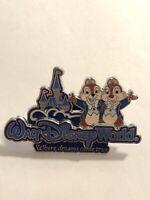 WDW Where Dreams Come True Chip & Dale Disney Pin  (B6)