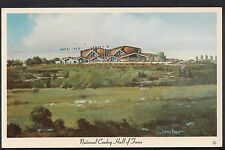 America Postcard - National Cowboy Hall of Fame, Oklahoma City    BR420