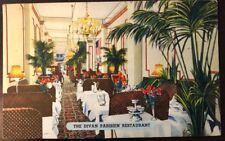 Vintage New York City, Early interior View of The Divan Parisien Restaurant 1953