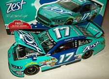 Ricky Stenhouse Jr 2014 Zest #17 Signed Autograph Teal Paint Pen 1/24 NASCAR
