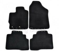 Fit For 2007-2012 Toyota Yaris Floor Mats Carpet Front & Rear Nylon Black 4PC