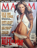 Maxim for Men April 2001 Magazine Ali Larter Keith Blanchard