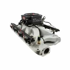FiTech 32858 Go Port EFI Fuel Injection System, Satin Black For Ford Small Block