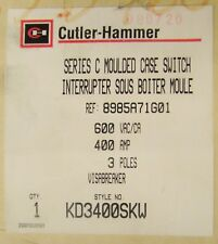 CUTLER HAMMER KD3400SKW KD-K Safety View Molded Case Switch 3P 400A KD3400SK