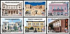 TURKEY 2016, PTT POST BUILDINGS THEMED DEFINITIVE POSTAGE STAMPS, MNH