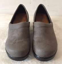 AXXIOM Marnie Professional Clogs Comfort Shoes Slip-on Gray Size 6
