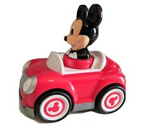 New listing Disney Mickey Mouse Hap-P-Kid Push & Go Racer Red Child Toy Car Toddler