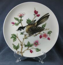 Black Capped Chickadee Fitz & Floyd Songbirds Collector Plate Porcelain