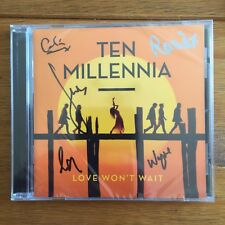 Ten Millennia - Love Won't Wait Signed  CD Autographed Sealed