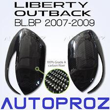 Carbon Fiber Car Side Mirror Cover For Subaru Outback Liberty BL BP 2007-2009 TU