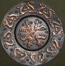 Hand made copper wall decor plaque