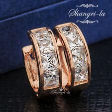 Diamond Huggie Mixed Themes Fashion Earrings