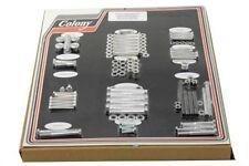 Colony Stock Complete Engine Hardware Bolt Chrome Set Kit Harley Ironhead 1000