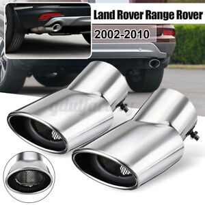 Stainless Steel Exhaust Muffler Tip Tail Pipe For Land Range Rover Sport 2002-10