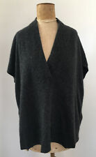 Vince Charcoal Cashmere Blend Sweater