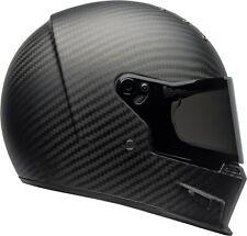 Casco Helmet Bell Eliminator Carbon Carbonio Solid Matte Black taglia M