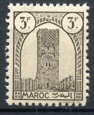 TIMBRE COLONIES FRANCAISES MAROC NEUF N° 216 ** TOUR HASSAN A RABAT