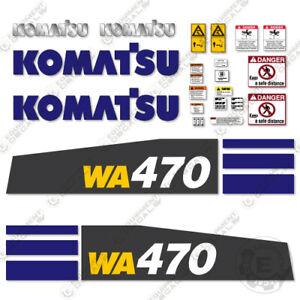 Komatsu WA470-8 Decal Kit Wheel Loader - 7-YEAR 3M VINYL!