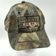 I'd Rather Be Hunting Real Tree Camo Hat