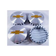 4 chvey Brushed Aluminum wheel Center Caps 22837060 83mm 3.25""