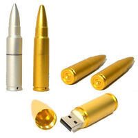 New 32GB Metal Bullet USB 2.0 Flash Pen drive Memory Stick Thumb Storage U Disk