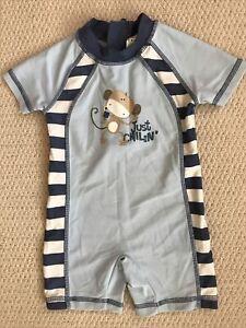 Baby Boys Swimwear From Next. Size 9-12 Mths. Blue