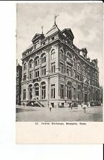 Early 1900's The Cotton Exchange Building in Memphis, TN Tennessee PC