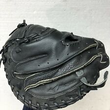 New listing Mizuno GXC94 black leather catcher Glove RHT size 33.5  In excellent condition.