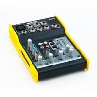 Master Audio MX52 Mixer compatto a 5 canali, 1 mono e 4 stereo, alimentazione +4