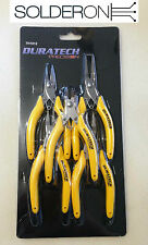 Duratech 5 Piece Stainless Steel Pliers and Cutters Set