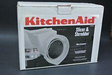 KitchenAid RVSA Rotor Slicer & Shredder 4 Cones Stand Mixer Attachment Set