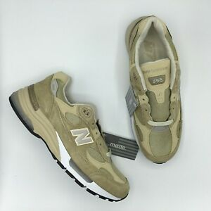 NEW BALANCE 992 M992 M992TN TAN WHITE MADE IN USA Size 8 - 13 BRAND NEW