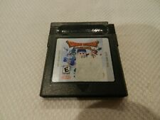 Dragon Warrior Monsters Nintendo Game Boy Color GBC Game Cart Tested